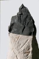 2018 - Sommets - pierre calcaire, plâtre modifié, fibre de verre - hauteur 85cm