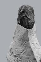 2018 - Sommets - pierre calcaire, plâtre modifié, fibre de verre - hauteur 57cm