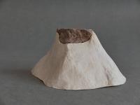 2017 - Ile - pierre, papier de soie, colle - 15x16x8cm