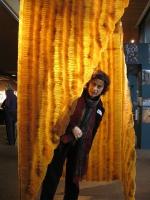 2009 - K-Vern - latex, fil de fer - 200x100x100cm - Maison de la Culture Famenne Ardenne