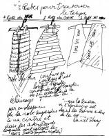 2003 - Trois-robes - dessins préparatoires