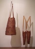 2003 - Robe du coeur et Pantalone - latex - 160x40x30cm