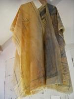 2004 - Robe des maux - latex et mine de plomb - hauteur 150cm